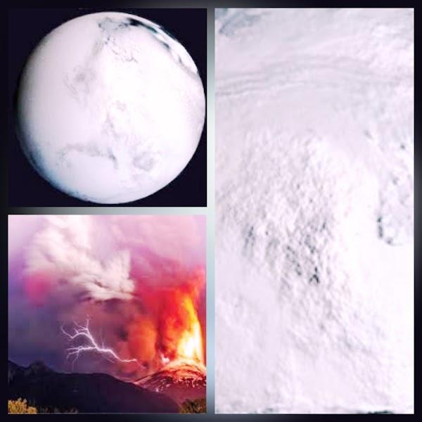 Una erupción volcánica muy potente podría provocar una nueva glaciación?