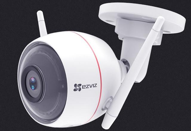 Perbedaan Ezviz camera CCTV C3WN dengan C3W