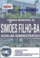 Apostila Câmara de Simões Filho 2016 Auxiliar Administrativo