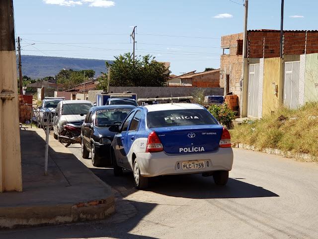Policia Civil investiga duplo homicídio ocorrido neste sábado em Barreiras