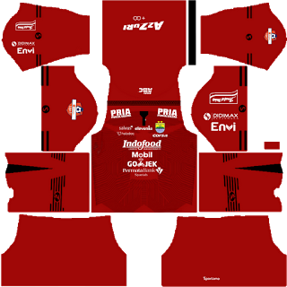 Persib Bandung Kits Dream League Soccer Terbaru 2019
