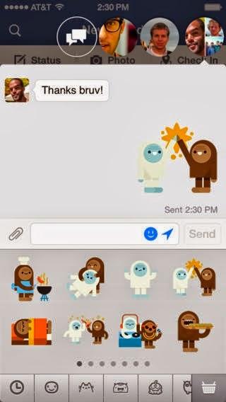 Chat với facebook messenger