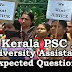 Kerala PSC : Expected Question for University Assistant Exam - 47