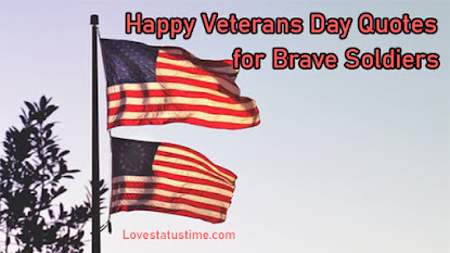 Happy Veterans Day 2020 Quotes for Brave Soldiers