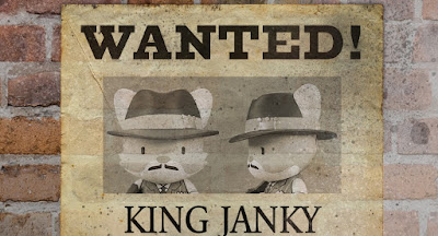 King Janky The Sixth Mini Figure by SUPERPLASTIC