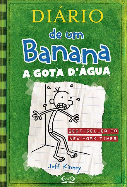 Diário de um Banana A gota d'água Jeff Kinney