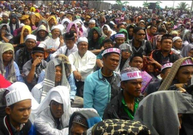 Ngeri, Foto dan Video Ratusan Ribu Nahdliyin Tolak Wahabi Lumpuhkan Kawasan Balaikota Bogor