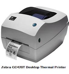Zebra GC420T Desktop Thermal Printer Driver Download