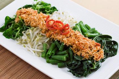 Resep Masakan Sayur Hijau Urap