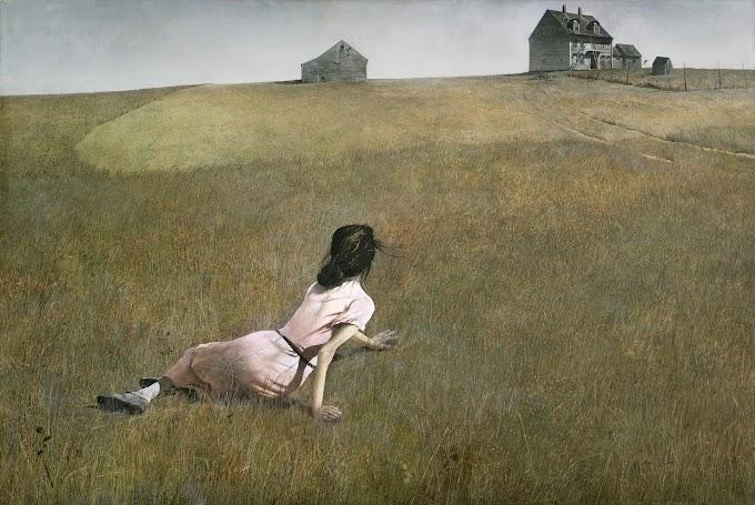 لوحة عالم كريستينا للأمريكي أندرو ويث