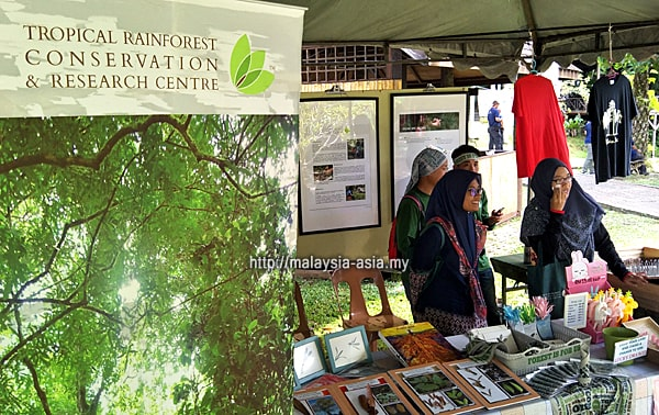 Conservation Booth Borneo Bird Festival