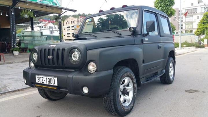 'Xế lạ' Kia Retona kiểu dáng Jeep tại Việt Nam