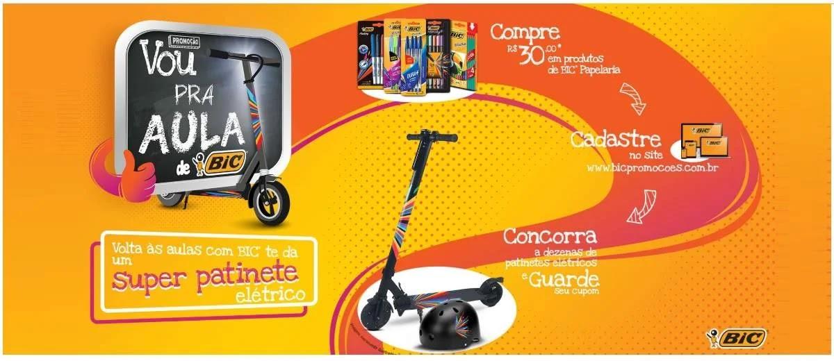 Promoção BIC 2020 Volta às Aulas →Patinetes e Brindes←