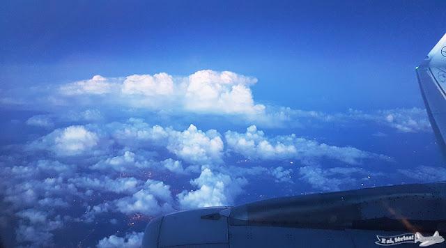 Voando sobre a Europa