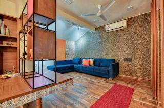 Bungalow interior design and decor in delhi