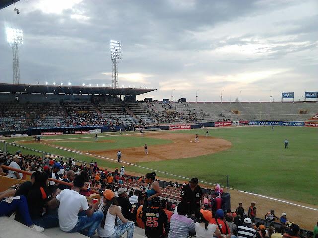 """Estadio Luis Aparicio """"El Grande"""", en Maracaibo, donde juegan las Águilas del Zulia."""
