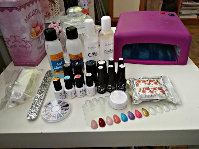 Mój zestaw do robienia hybryd | NeoNail, Sunny Nails, Aliexpress
