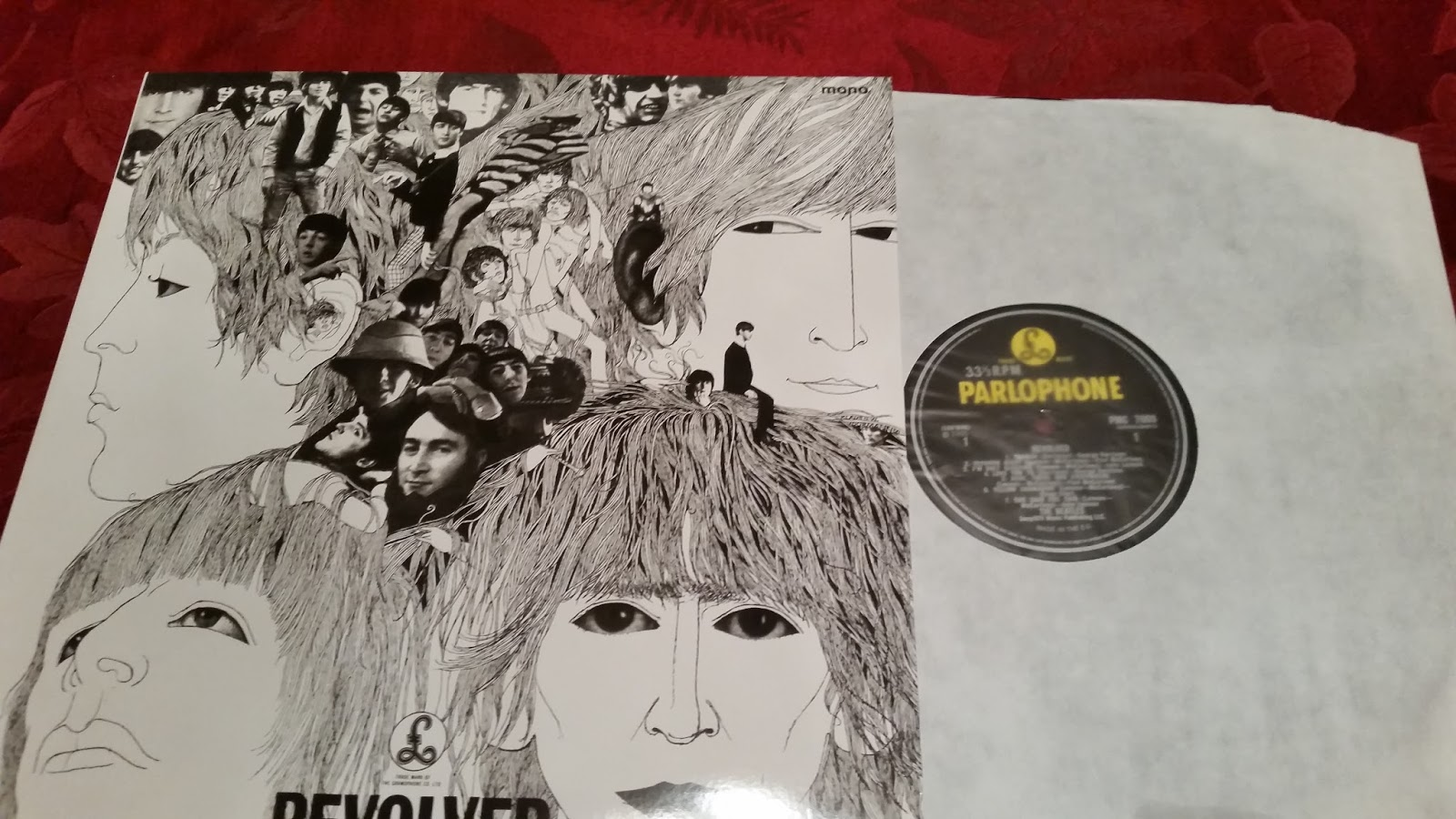Lance's Blog: The Beatles Revolver in Mono for the 50th