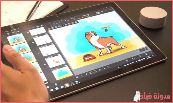 تطبيق انشاء الرسوم المتحركة مجانا