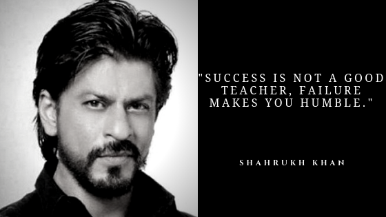 Shahrukh Khan Inspirational Quotes Best Inspirational Quotes Of