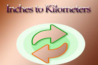 Inches to Kilometers