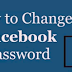 Change Password On Facebook