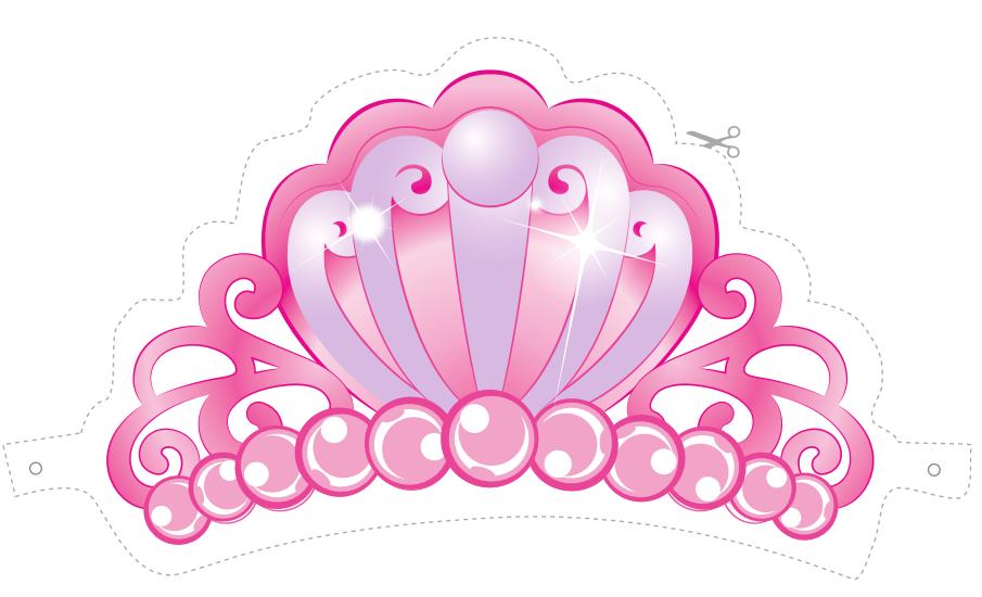 Barbie Princess Free Printable Tiara Oh My Fiesta In English