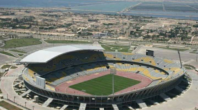The Borg El Arab Stadium was commissioned in the year 2005