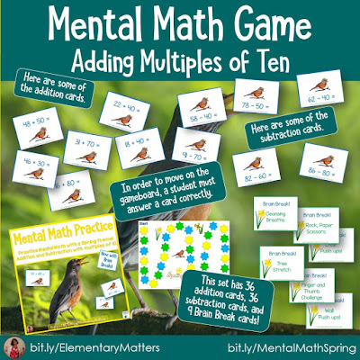 https://www.teacherspayteachers.com/Product/Mental-Math-Addition-and-Subtraction-Game-Spring-Theme-221515?utm_source=Spring%20Resources%20Blog%20Post&utm_campaign=Mental%20Math%20Spring