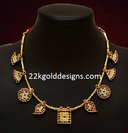 VBJ Ruby Temple Necklace