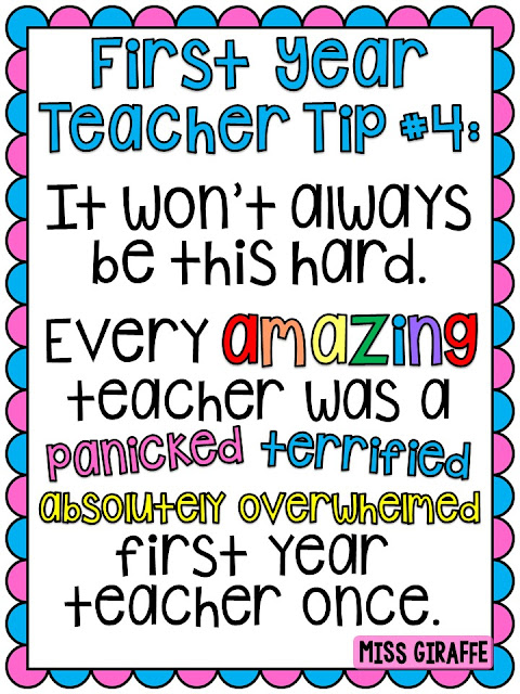 First year teacher elementary tips and advice that is both helpful and comforting for new teachers!