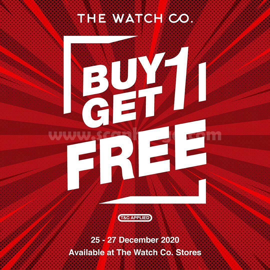 Promo The Watch Co. Buy 1 Get 1 Free