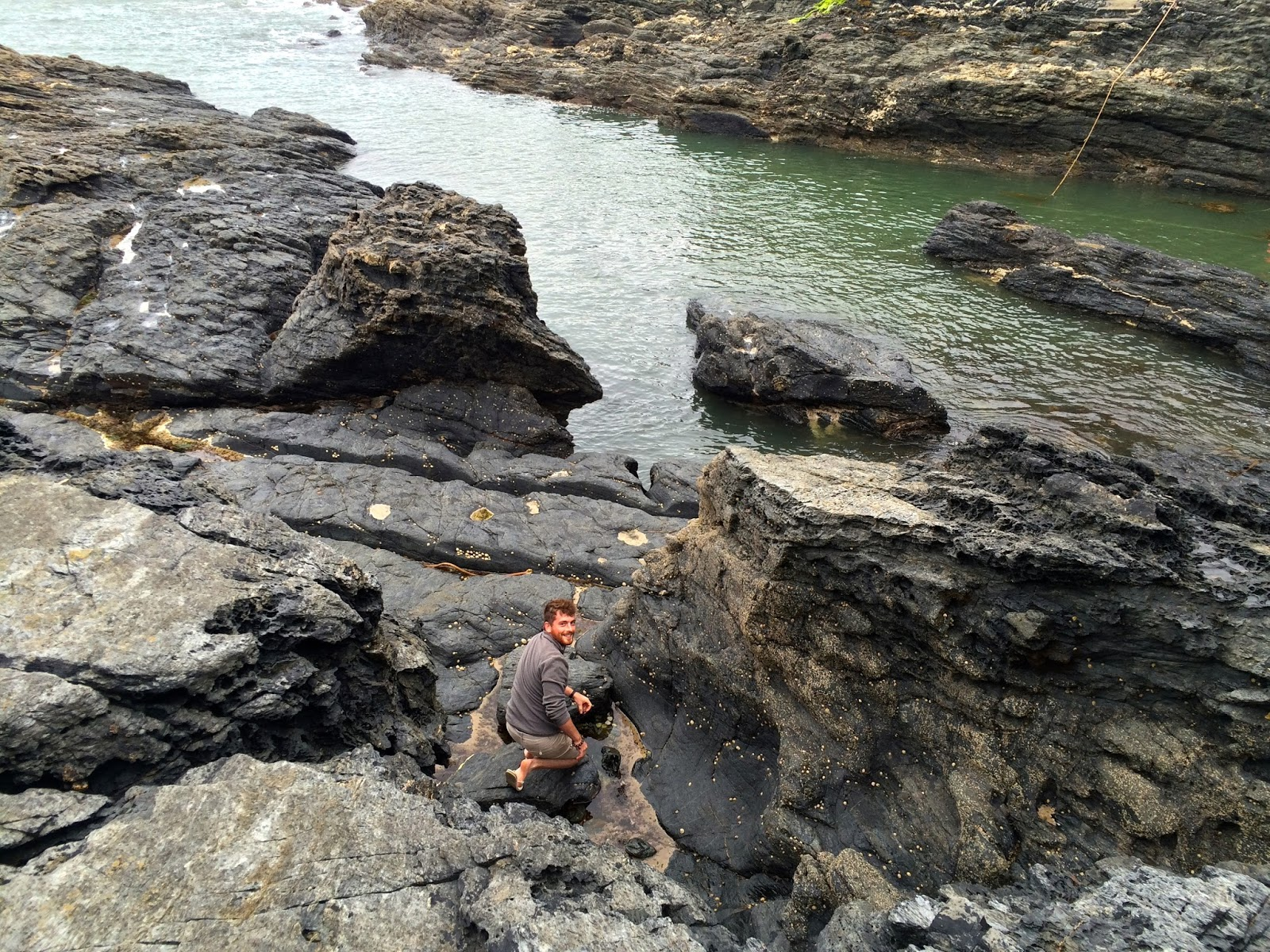 Prussia Cove, things to do in Cornwall, travel blog, limpet foraging