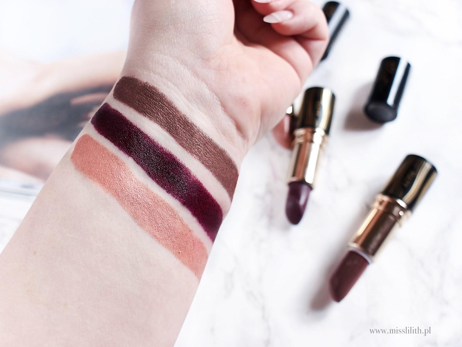 velvet matt lipstics eveline cosmetics blog opinie