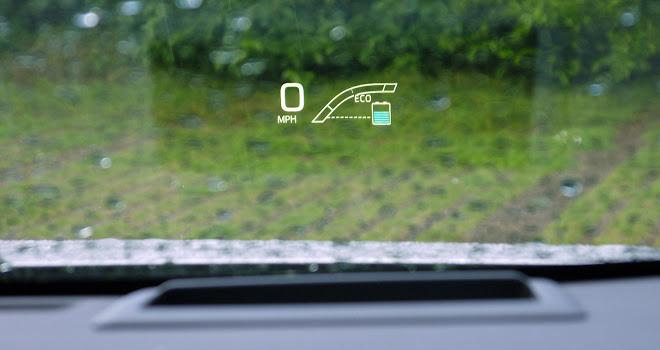 2016 Toyota Prius HUD