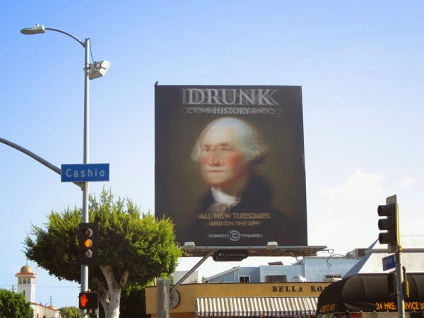 Blurry Drunk History season 2 billboard