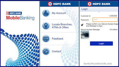 Find Customer id on Mobile banking