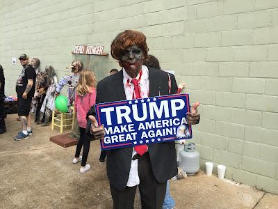 Donald Trump Zombie Halloween Costume
