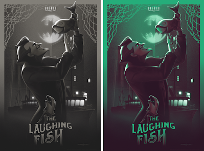 """Batman: The Animated Series """"The Laughing Fish"""" Print by Juan Ramos x Bottleneck Gallery"""