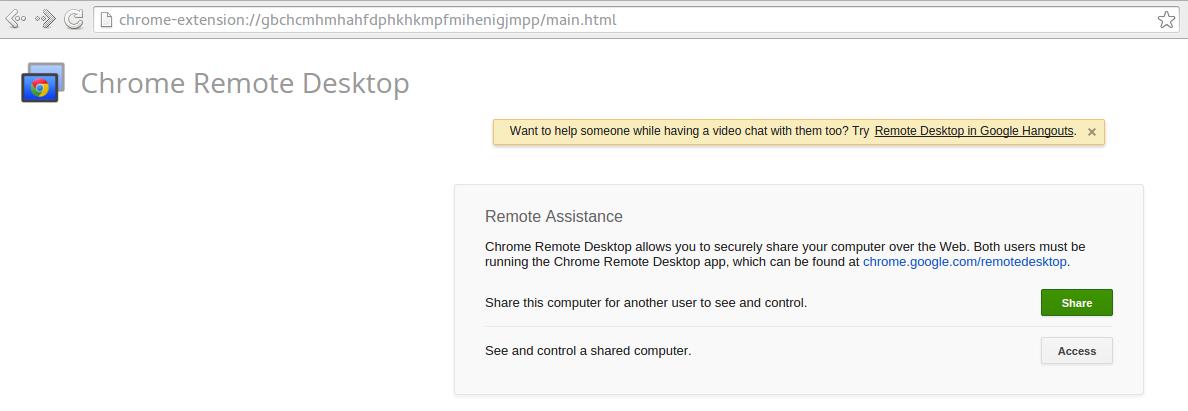 Tech by Dennis Kioko: Chrome Remote Desktop on Fedora Linux