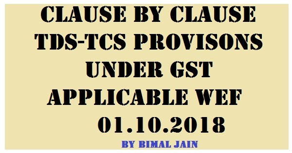 GSTTDSTCS WEF CONCEPT AND APPLICABILITY SIMPLE TAX INDIA - Online invoice wef