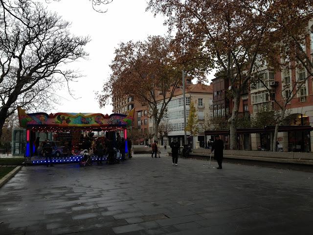 un día de invierno en Palencia