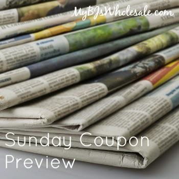 Sunday Coupon Preview for 10/26/14