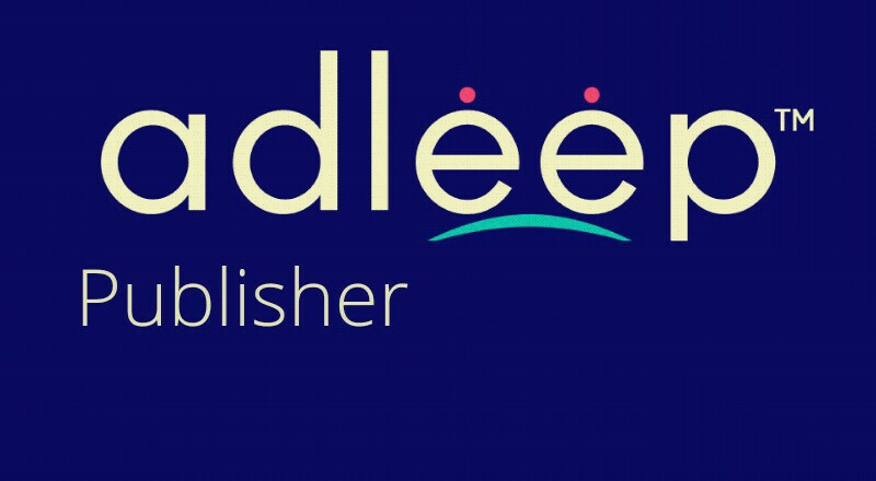 adleep for publishers