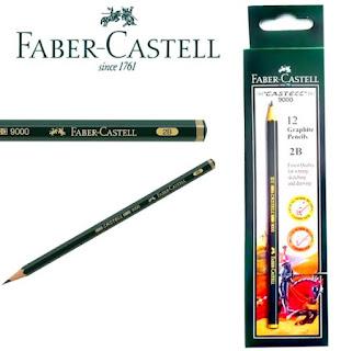 Pensil Faber Castell 2B