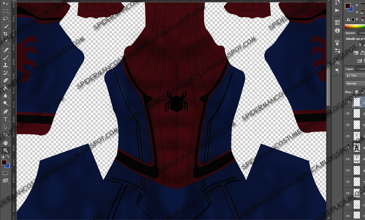 Spiderman Civil War V-01 & Spiderman Costumes