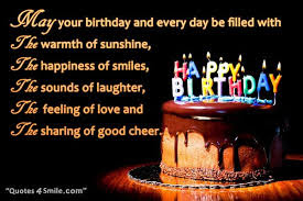 Happy Birthday Wises Cards For friends: the warmth of sunshine,