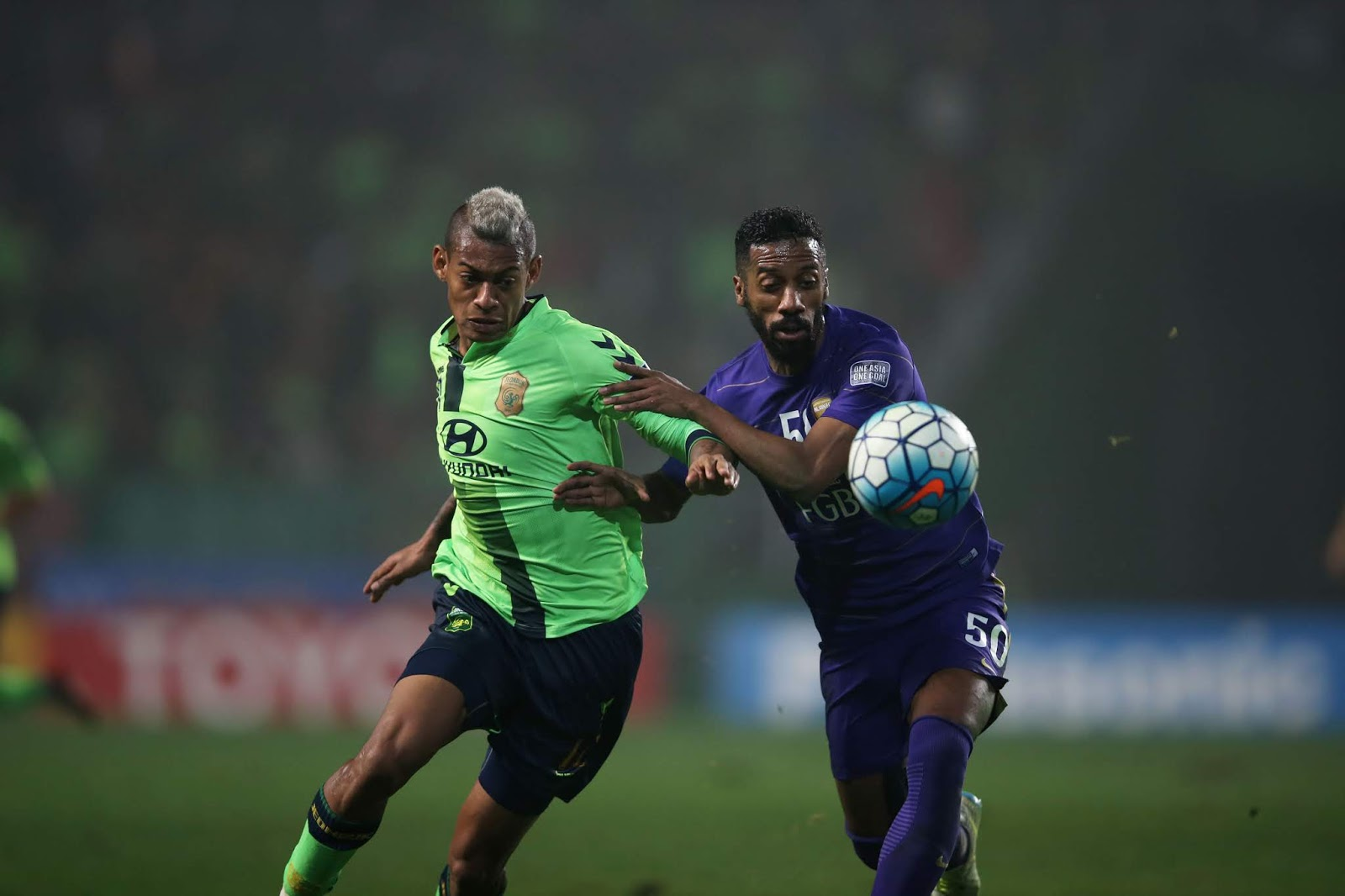 Ricardo Lopes in action against Al Ain in the AFC Champions League Final 2016.