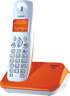 Flipkart- Buy Gigaset A450 Cordless Landline Phone (White) at Rs 1099
