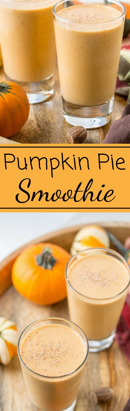 Easy Pumpkin Pie Smoothie #pumpkin #drink #easy #party #pie